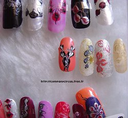 decoration sur ongles